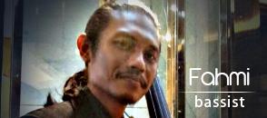 fahmi - bassist - kryptonite musicians