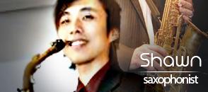 shawn - saxophonist - kryptonite musicians
