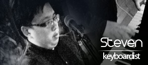 steven - keyboardist - kryptonite musicians