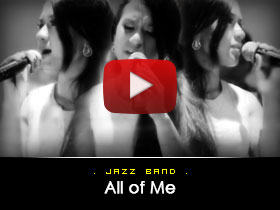All of me -  Jazz Band Video from Kryptonite Entertainment