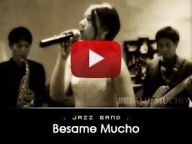 Besame Mucho  -  Jazz Band Video from Kryptonite Entertainment