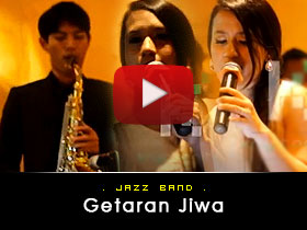 Getaran jiwa -  Jazz Band Video from Kryptonite Entertainment