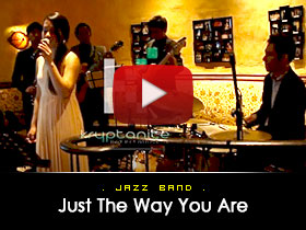 Just the way you are -  Jazz Band Video from Kryptonite Entertainment